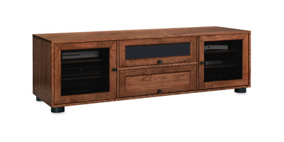 Customized Majestic EX 70-inch Solid Wood Media Console (2 Multi-Purpose Drawers)