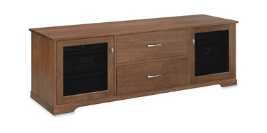 Customized Horizon EX 72-inch Solid Wood Media Console (2 Media Drawers)