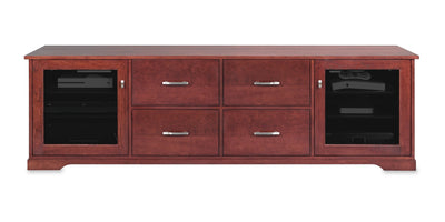Customized Horizon EX 82-inch Solid Wood Media Console (4 Media Drawers)