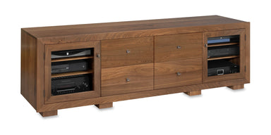 Customized Haven EX 82-inch Solid Wood Media Console (4 Media Drawers)