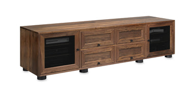 Customized Majestic EX 82-inch Solid Wood Media Console (4 Media Drawers)