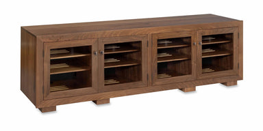 Customized Haven EX 83-inch Solid Wood Media Console (4 Enclosures)