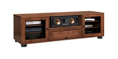Customized Majestic EX 70-inch Solid Wood Media Console (Center Speaker Shelf and Media Drawer)