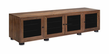 Customized Majestic EX 83-inch Solid Wood Media Console (4 Enclosures)