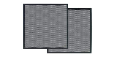 Perforated Metal Door Panel Set for Haven EX Media Consoles