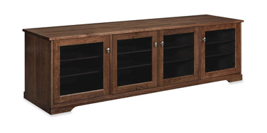 Horizon EX 84-inch Solid Wood Media Console (4 Enclosures)-Standout Designs