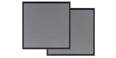 Perforated Metal Door Panel Set for Horizon EX Media Consoles