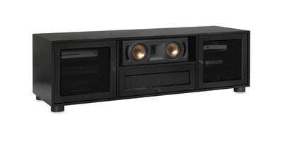 Majestic EX 70-inch Wood Media Console (Center Speaker Shelf + Drawer)