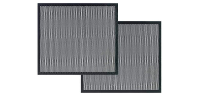 Perforated Metal Door Panel Set for Majestic EX Media Consoles