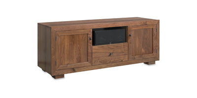 Wood Door Panel Set for Haven EX Media Consoles