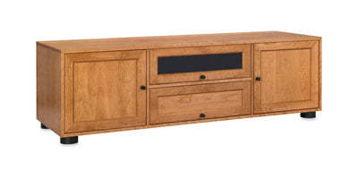 Wood Door Panel Set for Majestic EX Media Consoles
