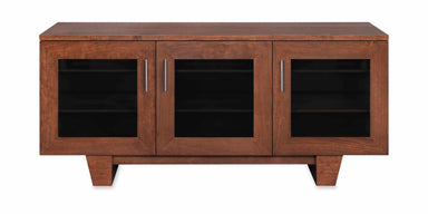 Photo Sample — The Quest 64-inch Solid Wood Media Console (3 Enclosures)
