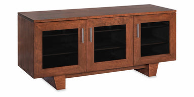 The Quest 64-inch Solid Wood Media Console (3 Enclosures)