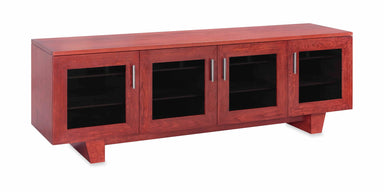 The Quest 85-inch Solid Wood Media Console (4 Enclosures)