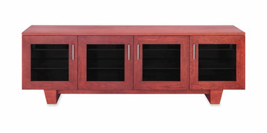 Photo Sample — The Quest 85-inch Solid Wood Media Console (4 Enclosures)