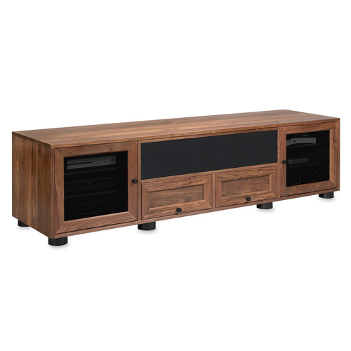 fabric speaker grill cover for Standout Designs media console tv stand