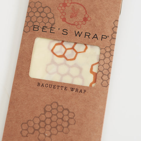 Wax Wrap - Honeycomb Print - Baguette Wrap