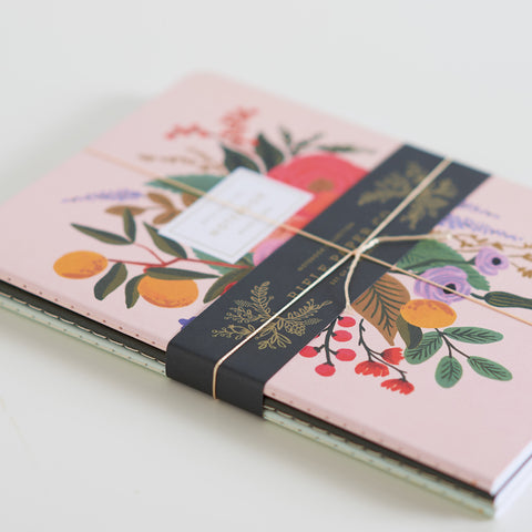 Garden Party Notebook - Set Of Three