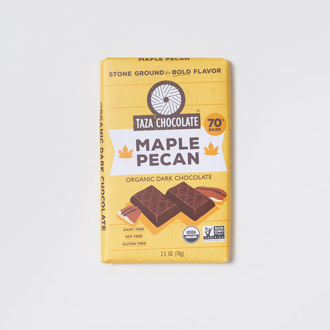 Maple Pecan Dark Chocolate Bar
