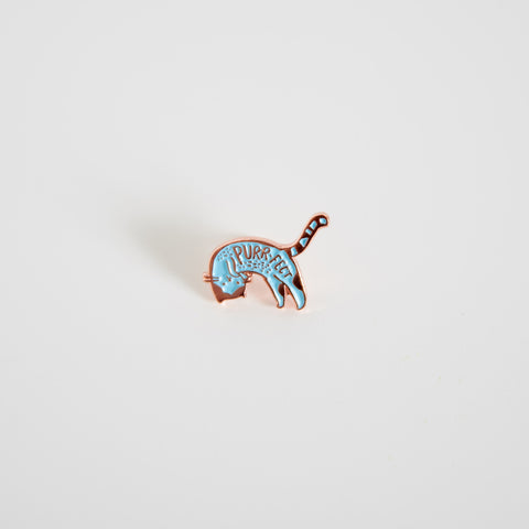 Purrfect Enamel Pin
