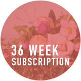 36 Week Arrangement Subscription