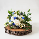 Prom Bouquet - Hint of Blue