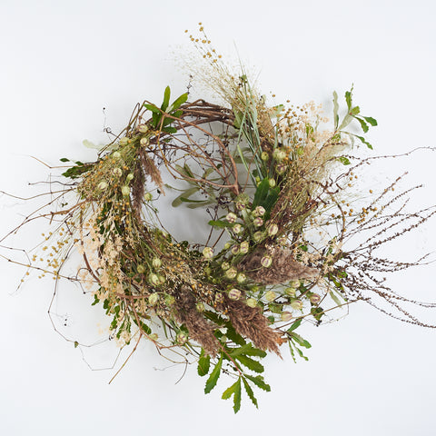 Nigella Wreath