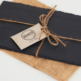 Slate Cheese Board (7'' x 12'') - Black