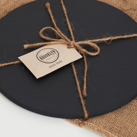Slate Cheese Round Board