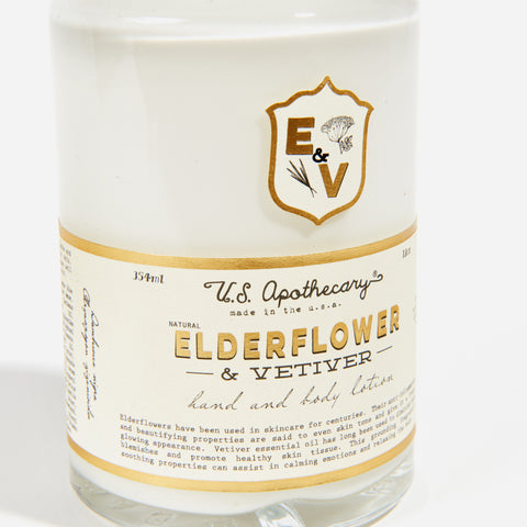 Elderflower + Vetiver Hand Lotion