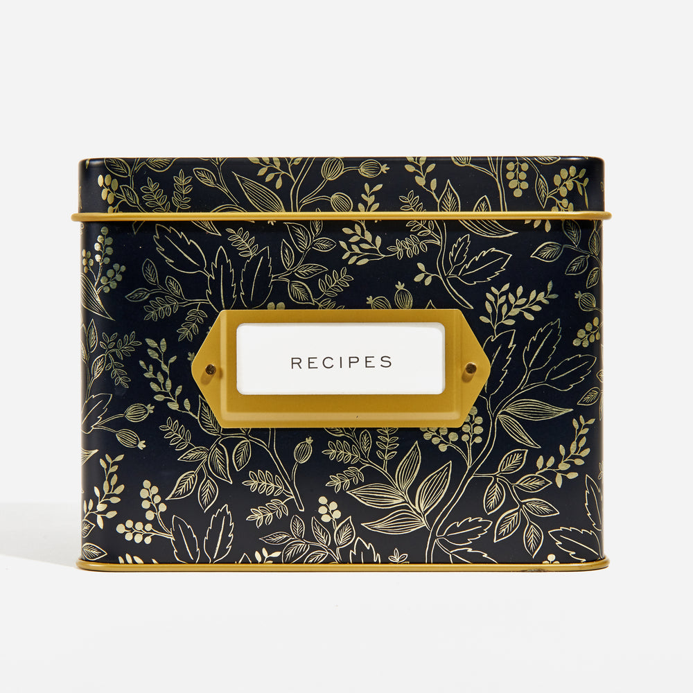 Queen Ann Recipe Box & Cards