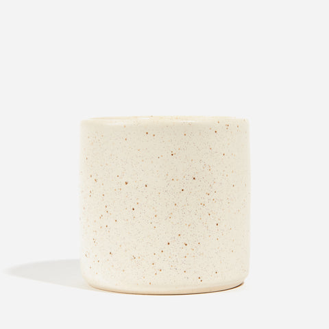 Ceramic Cup - Speckled White