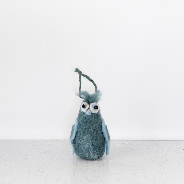 Owlish Felt Ornament 4