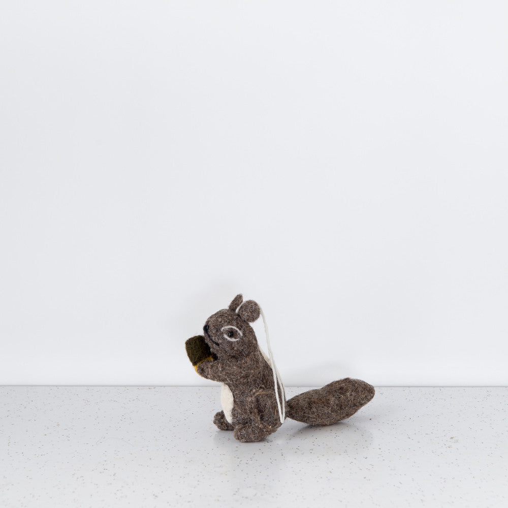 Felted Forest Friend - Nutty Squirrel