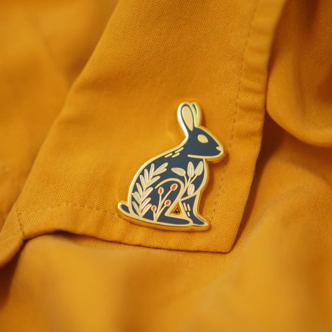Rabbit Enamel Pin