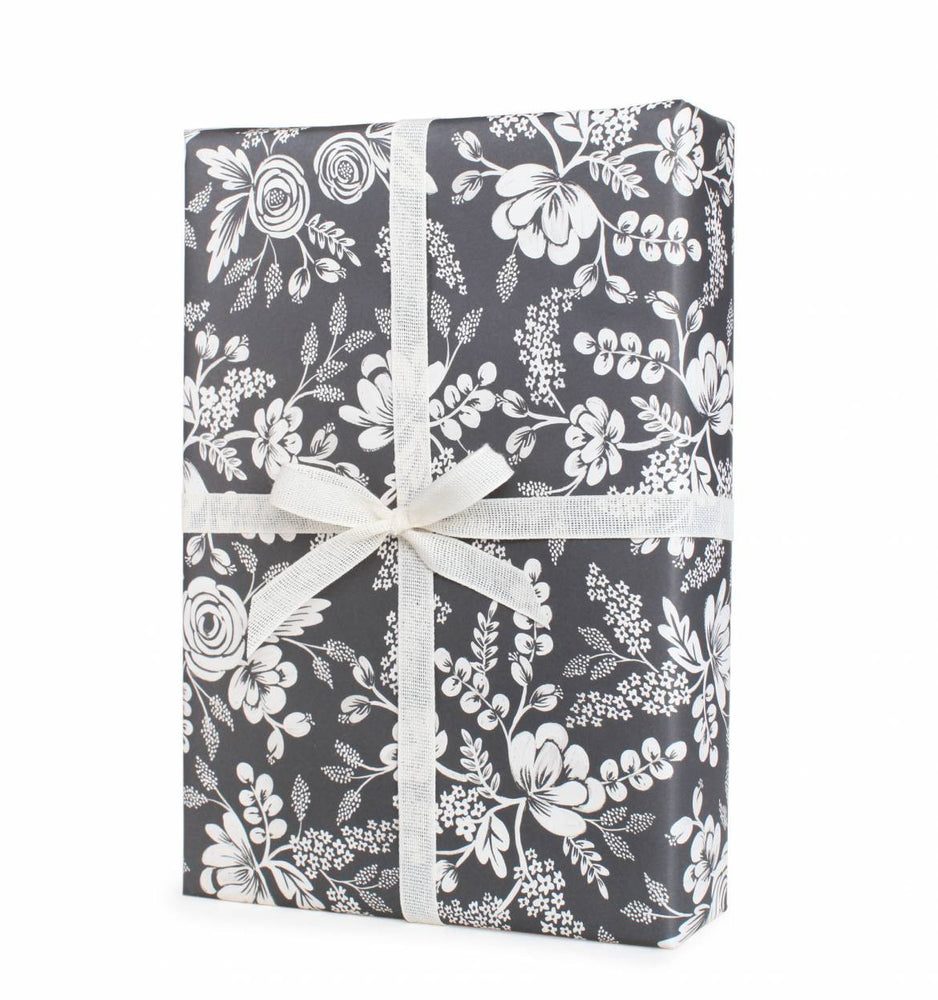 Graphite Lace Wrapping Sheet