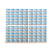 Load image into Gallery viewer, Original Soviet Union Uncut Matchbox Sheet of 90 - Latvia 1960's