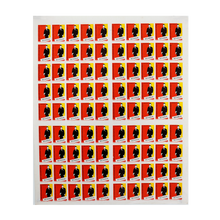 Load image into Gallery viewer, Original Soviet Union Uncut Matchbox Sheet of 90 - Latvia 1960's-2