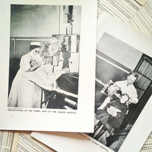 Vintage Medical Pages - X Ray Photographs