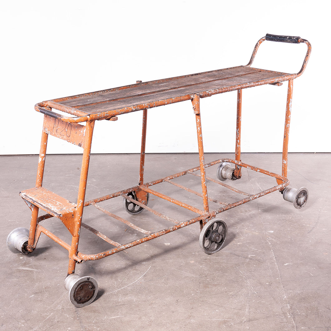 1960s Nursery Industrial Trolley