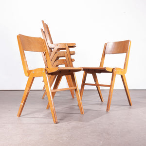 1950s Stunning Vintage Casala Dining Chairs - Set Of Six