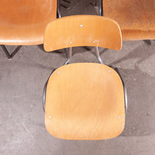 Load image into Gallery viewer, 1960s Dining School/University Chairs - Set Of Eight