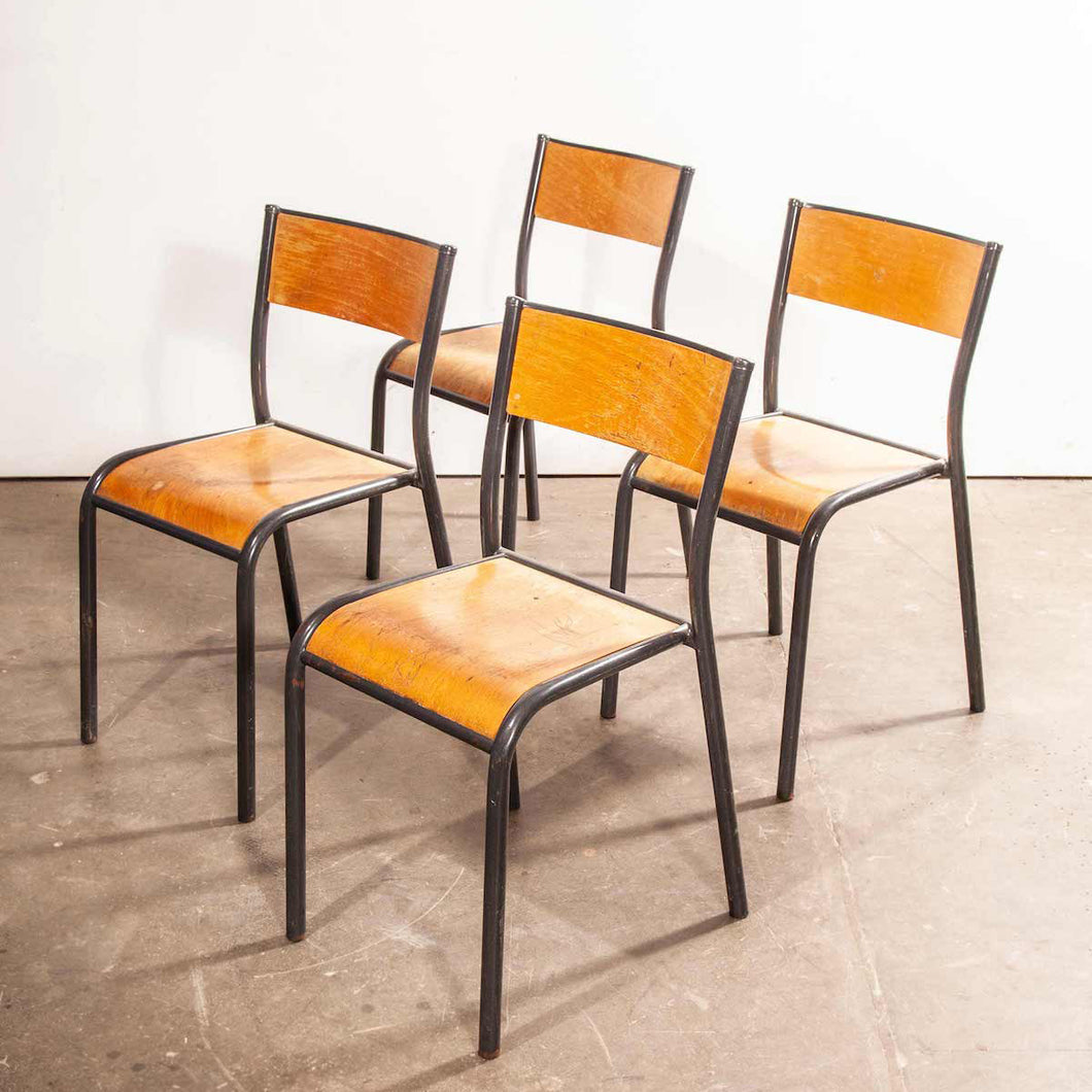 1950's French Mullca Dining Chair - Set Of Four
