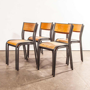 1950's French Mullca Dining Chair - Set Of Eight
