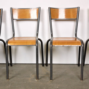 1950s French Mullca Dining Chairs - Set Of Six