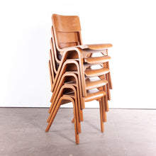 Load image into Gallery viewer, 1950s Rare James Leonard Esavian ESA Dining Chairs With A Laminated Beech Frame - Set Of Eight