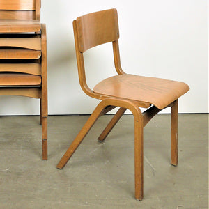 1950s Tecta Beech Dining Chairs In Beech Wood - Set Of Eight
