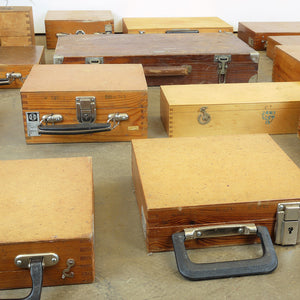 1960s Russian Industrial Scientific Equipment Boxes