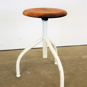 1960s Pair of Industrial Stools