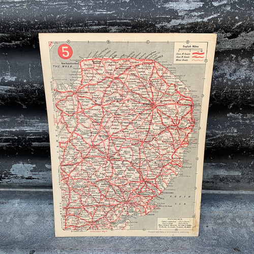 1920s Road Map - 5 - Norfolk
